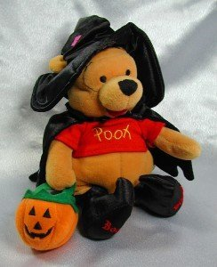 Winnie the Pooh Trick or Treat Plush Bean Bag by Disney - 1