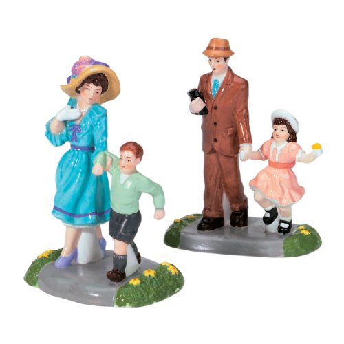 Dept 56 Accessories Dressed In Our Easter Best Snow Village Ceramic - Ceramic 3.75 IN