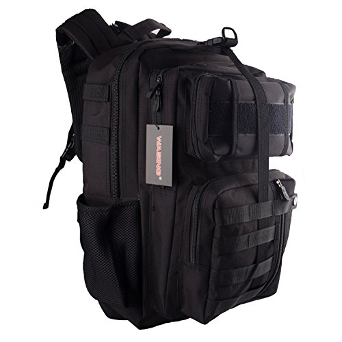 WASING-Military-Tactical-Backpack-Gear-Assault-Pack-Camping-Hiking-Traveling-Bag-40L