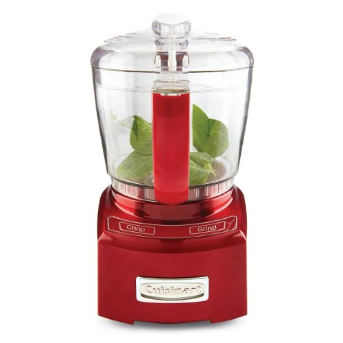 Brand New Cuisinart Ch 4Mr 4 Cup Red Mini-Prep Food Processor New