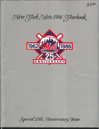 New York Mets 1986 Yearbook Special 25th Anniversary Issue at Amazon.com