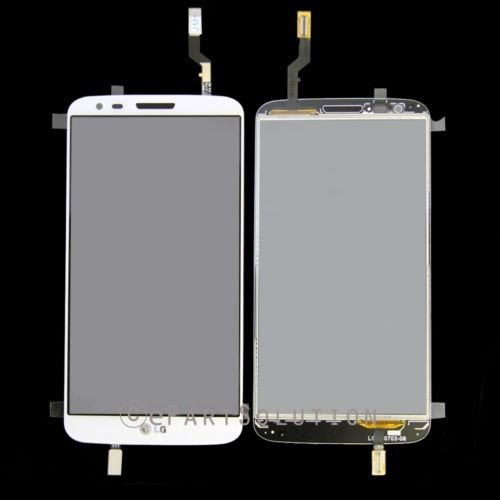 Lg G2 D802 Digitizer Lens Glass Touch Screen White Replacement Part