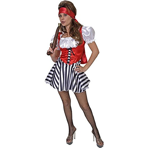 Adult Ladies Sexy Pirate Costume (Size: Small 6-8)