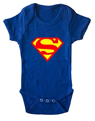 BODY tutina pagliaccetto Superman 0-6 mesi
