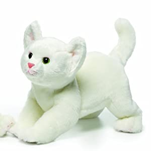 Nat and Jules Plush Toy, White Cat, Large