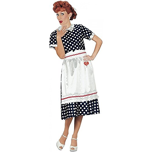 Adult I Love Lucy Costume Size Medium (10-12)