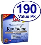 Simply Right Maximum Strength Ranitidine Acid Reducer, 190 Count