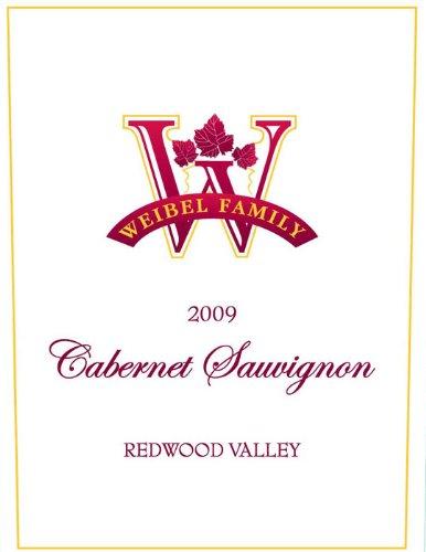 2009 Weibel Family Redwood Valley Cabernet Sauvignon 750 Ml