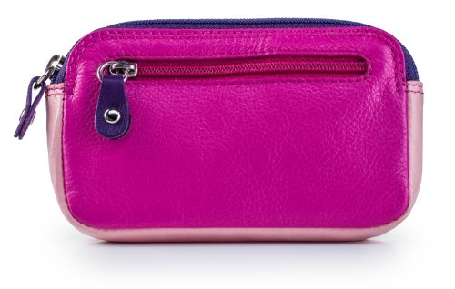 visconti-rb68-multi-color-ladies-soft-leather-coin-purse-key-wallet-berry