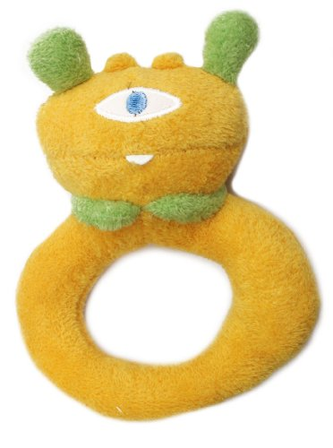 Angel Dear Ring Rattle, Yellow Cyclops