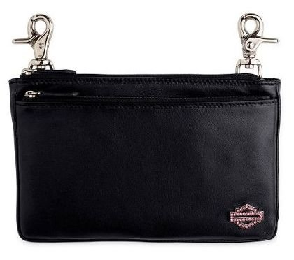 Harley-Davidson® Women's Pink Crystal Bar & Shield Logo Hip Bag Purse. Pink Label Collection. 99497-10VW