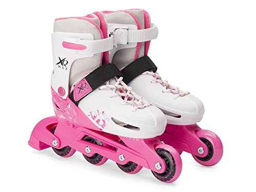 Pattini in Linea Rollerblade XQ Max Girls Misura Regolabile Ragazzi - 3 Taglie - Bambine Medium 33-36