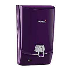 Livpure PEP Plus RO+UV Water Purifier (Purple) 12 liters