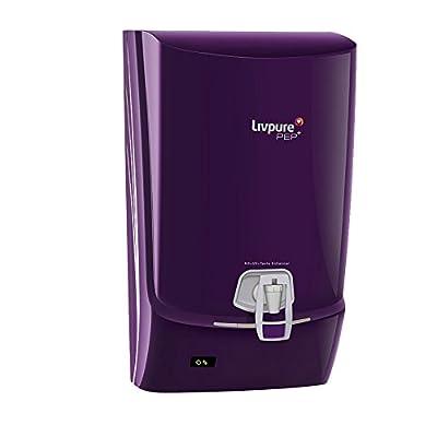 Livpure PEP Plus 7 L RO + UV Water Purifier (Violet)
