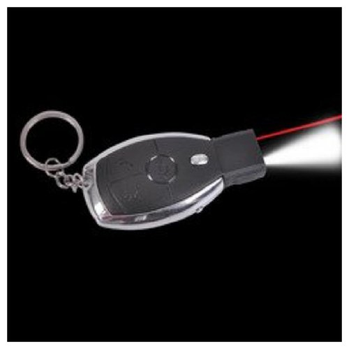 "2.8"" Shocking Car Key With Led Laser (1 per order)"