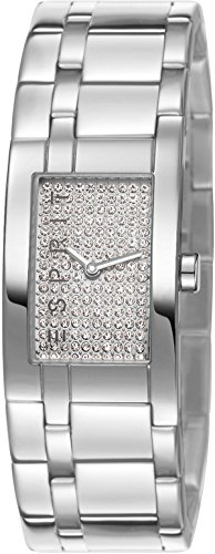 Damen-Armbanduhr houston Analog Quarz Edelstahl ES107042001