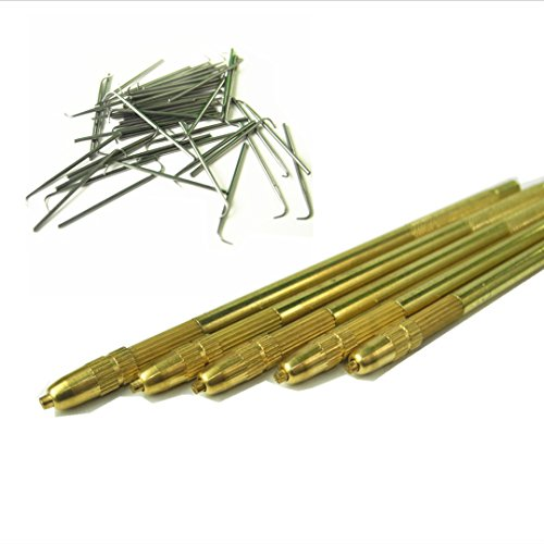 GEX Bronze Lace Wig Ventilating Holder+4PCS Needle Kit (One of Each Size 1-1, 1-2, 2-3 and 3-4) from BHD Beauty (Gex 2 compare prices)