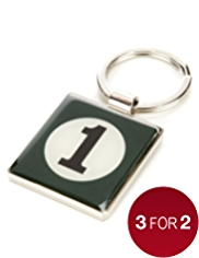 Racing Green Keyring