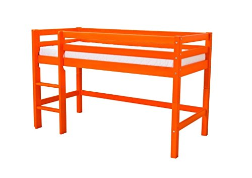 Hoppekids Lit mi-hauteur Basic 70*160 - Orange