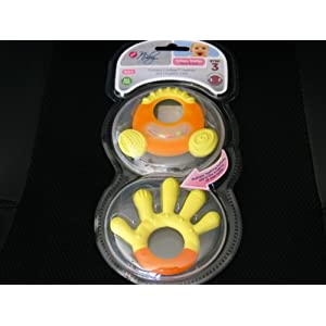 Nuby Natural Touch Step 3 - Yellow/orange