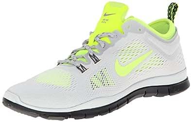 Nike Women's Free 5.0 Tr Fit 4 Ivry/VltLght Ash/Lght Ash/Gry Running Shoe 5.5 Women US