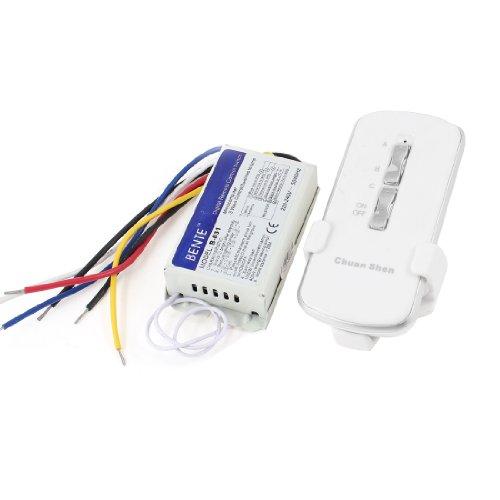Ac 220-240V 3 Way Rf Digital Remote Control Lamp Switch Controller