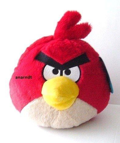 Angry Birds Plüschfigur 20 cm rot Plüsch Stofftier Beanie