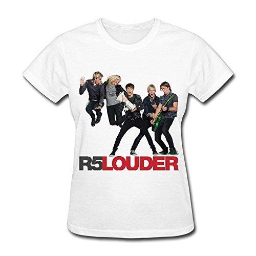 amrican-band-r5-louder-t-shirt-for-femme-white