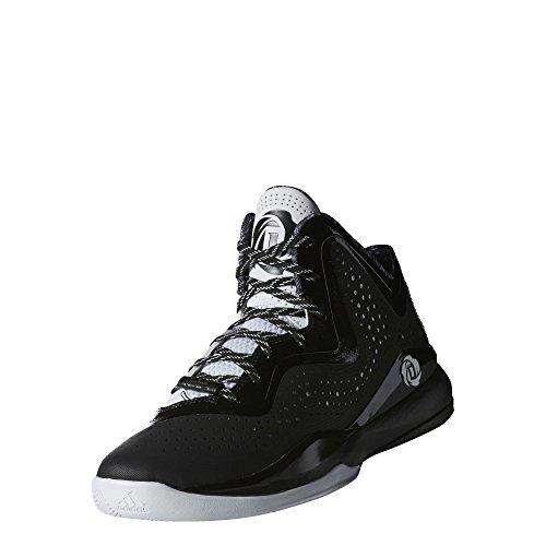 Adidas D Rose 773III Scarpe da basket, Uomo, nero, 44/5