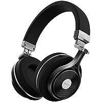 Bluedio T3 (Turbine 3rd) Extra Bass Over-Ear Wireless Bluetooth Headphones (Black)