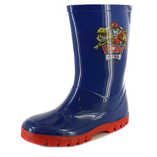 Paw Patrol Boys Wellington Boots Blue & Red UK Size Infant 4