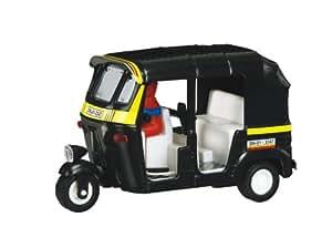 Shinsei Toys Shinsei Toys Black Yellow Big Auto Rickshaw