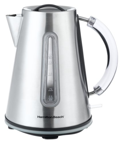 Hamilton Beach 40999 10-Cup Electric Stainless-Steel Teakettle