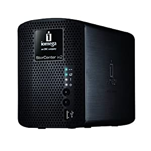 41ocBslKl9L. SL500 AA300  Iomega 34481 StorCenter ix2 200   2TB Network Attached Storage (Black)