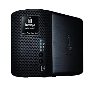 Iomega StorCenter ix2-200 - 2 TB (2 x 1TB) Network Attached Storage 34481