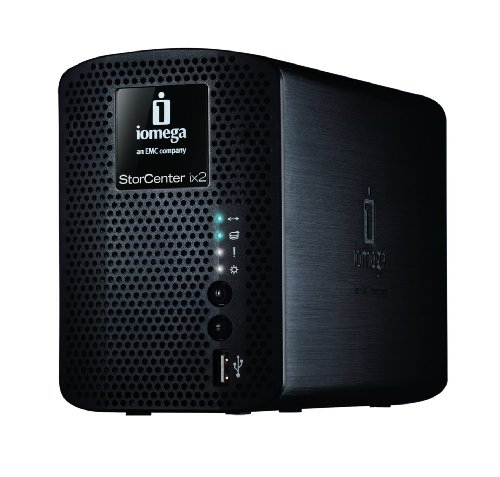 Iomega StorCenter 4 TB ix2-200 (2 x 2TB) Network Storage Cloud Edition 35430