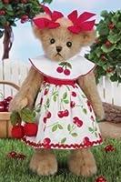 "Cheri Cherry Brown Bear 14"" by Bearington by Bearington"