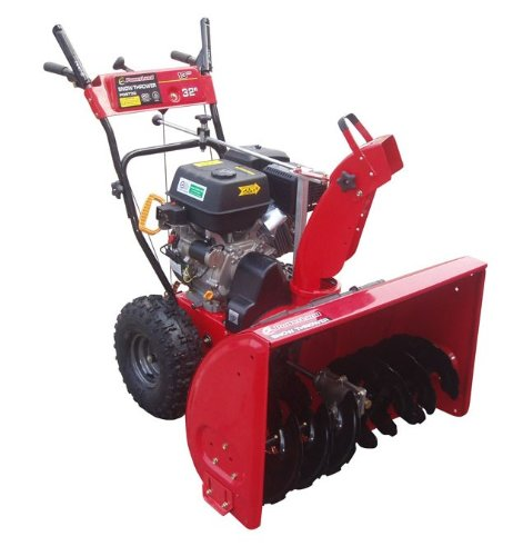 Powerland Pdst32 32-Inch 389Cc 13 Hp Ohv Gas Powered Two Stage Self Propelled Snow Thrower With Electric Start (Carb Compliant)