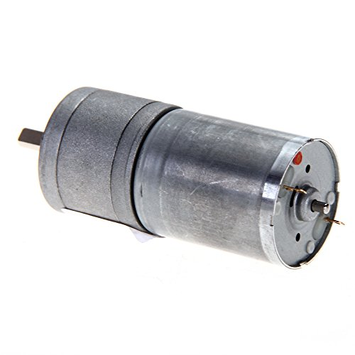 12V Dc 1000Rpm 25Mm Powerful High Torque Gear Box Motor Speed Reduction Toy
