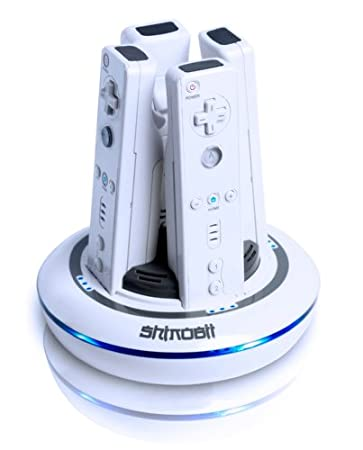 Blue Sphere Charging Dock for Wii Remotes