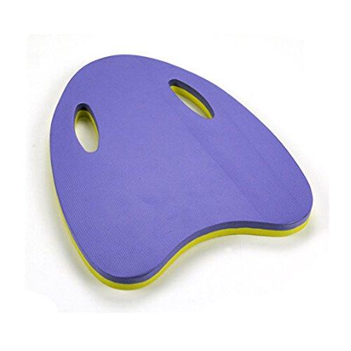 Kids Swimming Training Kickboard A Foam Kickboard flutter board Yellow/Purple