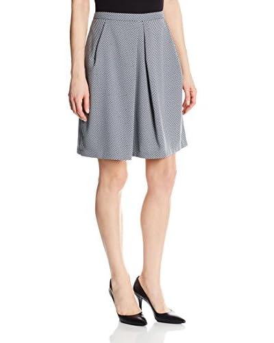 Anne Klein Women's Check A-Line Skirt