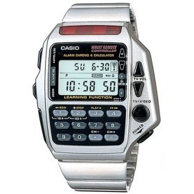 Casio Men's CMD40F-7CB Technoware TV/Cable Remote Control Watch