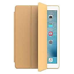 iPad mini 4 Case Zover Ultra Slim Lightweight Smart-shell Stand Cover Case With Auto Wake / Sleep for Apple iPad mini 4 (2015 edition) 7.9 inch iOS Tablet Gold