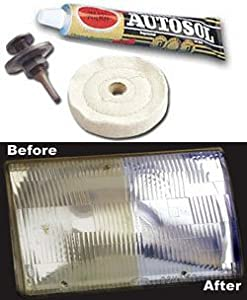 Plastic Headlight Lens Refinishing Kit Clean Head Lamp from Eastwood