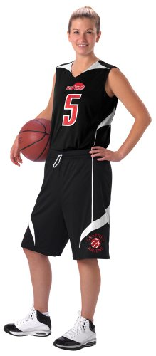 Don Alleson 555PW Women's Basketball Shorts Stock Reversible Uniform (Call 1-800-327-0074 to order)