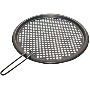 "The Amazing Quality Magma Fish & Veggie Grill Tray S.S. W/Non-Stick - 13-3/4"" Round"