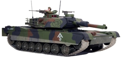 ABRAMS M1A1 RTR 1/16