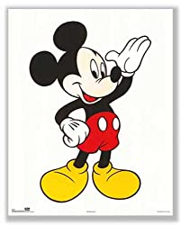 "Mickey Mouse: Classic by Walt Disney 20""x16"" Art Print Poster"