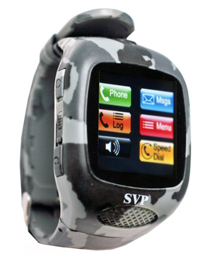 G13 (with Micro 4GB) Camouflage Camera GSM Quad-band Watch Phone ~ UNLOCKED ~